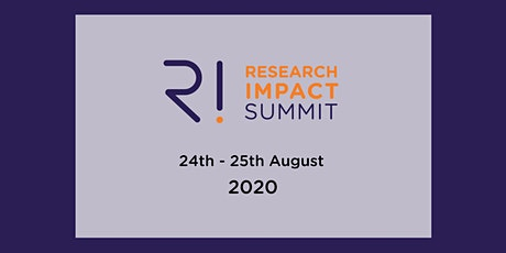 Research Impact Summit 2020 tickets
