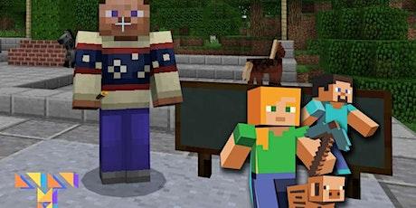Intro to Minecraft Education Edition - Online Minecraft Coding Camp - Y3-Y7 tickets