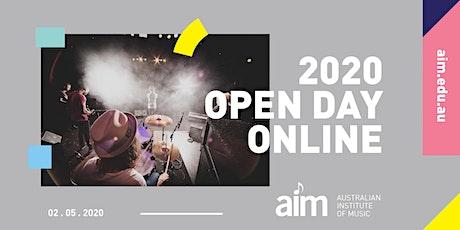 AIM Open Day 2020 | ONLINE tickets