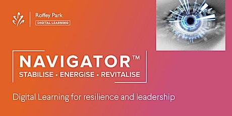 Navigator™: Building a Resilient Organisation tickets