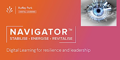 Navigator™: Building a Resilient Organisation tickets