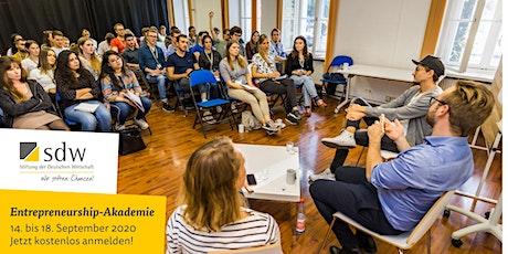 Entrepreneurship-Akademie 2020 Tickets