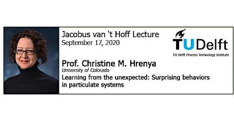 Van 't Hoff Lecture 2020 tickets