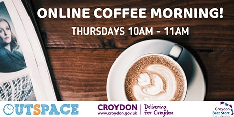 Free online coffee morning for parents in Croydon tickets