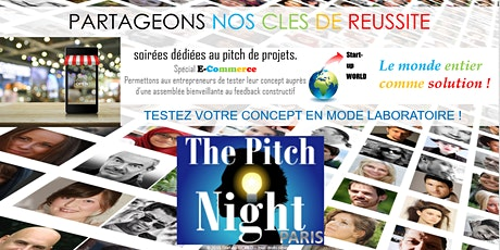 "Pitch Night Paris spécial ""E-commerce"" tickets"