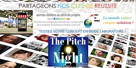 """Pitch Night Paris spécial """"E-commerce"""" billets"""