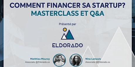Comment financer sa startup ? par Eldorado tickets