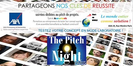 "Pitch Night Paris spécial ""Assurtech"" tickets"