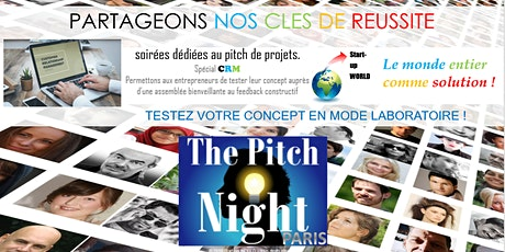 "Pitch Night Paris spécial ""CRM"" tickets"
