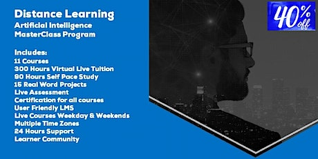 Distance Learning Artificial Intelligence MasterClass by Acumen Envision tickets