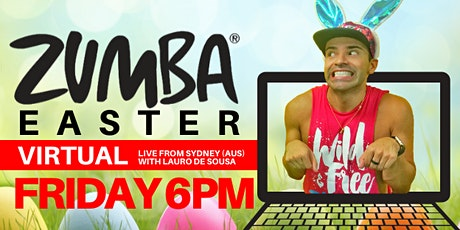 Virtual Easter Zumba® (Friday 10/4 at 6pm) tickets