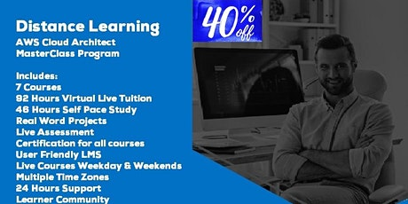 Distance Learning AWS Cloud Architect MasterClass by Acumen Envision tickets