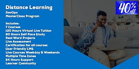 Distance Learning DevOps MasterClass Program by Acumen Envision tickets