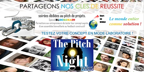 "Pitch Night Paris spécial ""Blockchain"" billets"