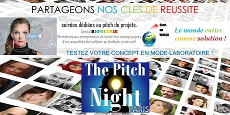"Pitch Night Paris spécial ""Biométrie"" tickets"