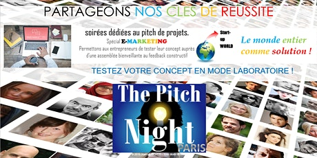 "Pitch Night Paris spécial ""Agritech"" billets"