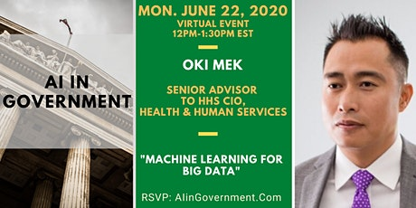 VIRTUAL AI in Government - Oki Mek, HHS tickets