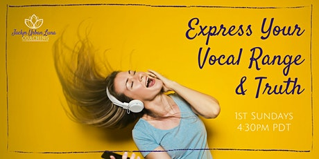 VIRTUAL Express Your Vocal Range & Truth Chat tickets
