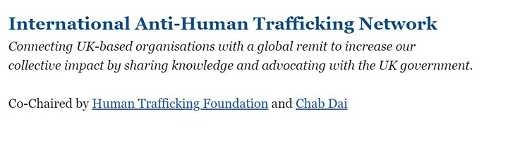 How has the international anti-trafficking response adapted to Covid? image