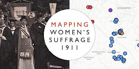 HA Webinar: Mapping women's suffrage Tickets