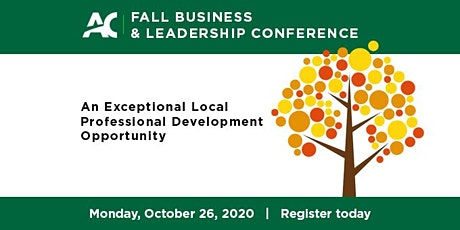 2020 Fall Business & Leadership Conference tickets