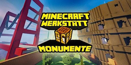 FabLabKids: Minecraft Werkstatt - Ferienprogramm Sommer 3-tägig (Monumente der Welt) Tickets