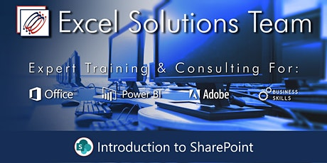 Introduction to SharePoint (Webinar) tickets