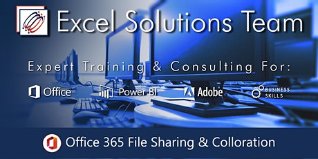 Office 365 File Sharing and Collaboration (Webinar) tickets