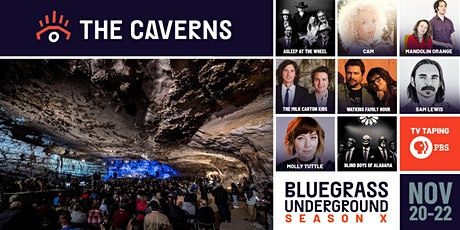 Bluegrass Underground PBS TV Taping - 3-Day