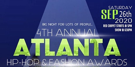 4th Annual Atlanta Hip Hop & Fashion Awards tickets