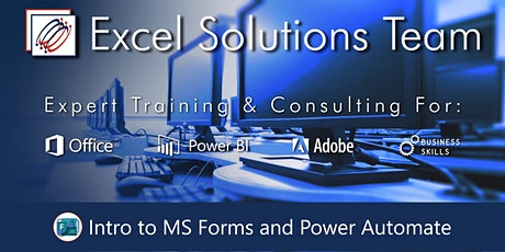 Introduction to Microsoft Forms and Power Automate (Webinar) tickets