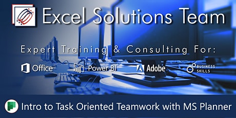Introduction to Task Oriented Teamwork with Microsoft Planner (Webinar) tickets