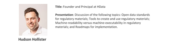 Public Meeting on Regulatory Data image
