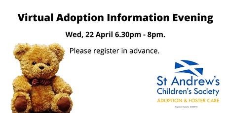Virtual Adoption Information Evening - St Andrew's Children's Society tickets