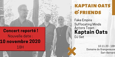 Kaptain Oats & Friends tickets