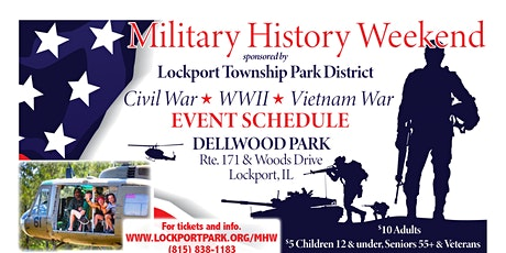 CANCELLED: 2020 Lockport Township Military History Weekend  tickets