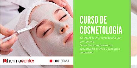 Curso de Cosmetología Online Turno Mañana. (Cursada Dias Lunes) entradas