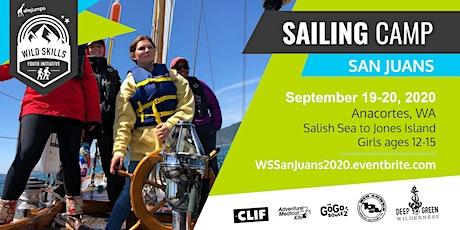 WA Wild Skills Sailing Camp: San Juan Islands tickets