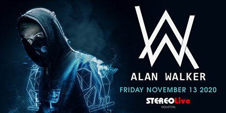 Alan Walker - Stereo Live Houston tickets