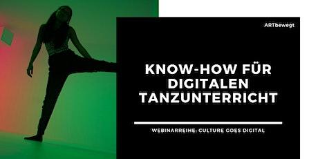 WEBINAR 1: Know-how für digitalen Tanz- und Fitnessunterricht (Beginner) tickets