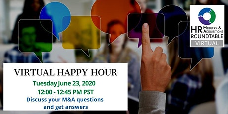 June HR M&A Virtual Happy Hour - Cultural Assessments tickets