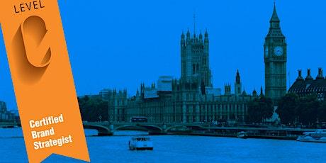 Level C MASTERCLASS 2: THE BRAND STRATEGIST **LONDON** tickets