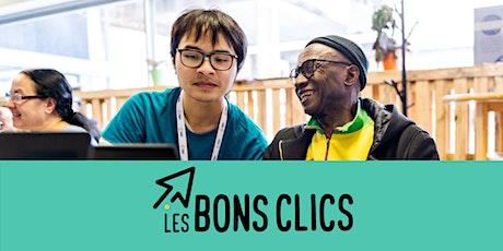 Webinar Les Bons Clics : Accompagner ses publics en temps de crise tickets