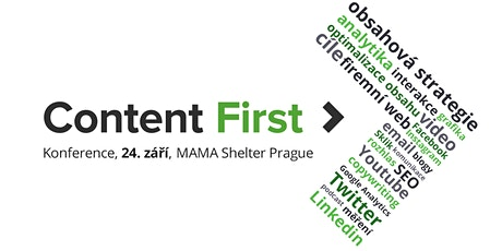 Konference Content First tickets