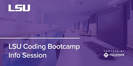 Online Info Session | LSU Coding Bootcamp tickets