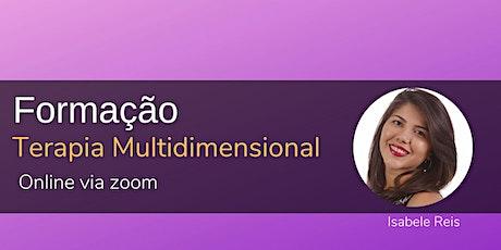 Curso de Formação em Terapia Multidimensional bilhetes