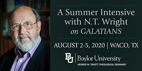 Summer Intensive with N.T. Wright tickets