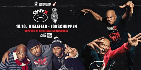 Onyx & Lords Of The Underground Live in Bielefeld - Samstag, 10.10. Lokschuppen Tickets