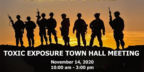 Toxic Exposure Town Hall Meeting tickets