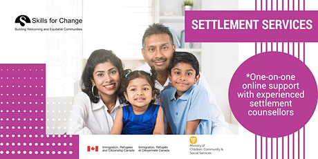 Online - Settlement, Counselling, and Support Services for  Immigrants tickets